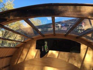 Reclaimed Wood Micro Teardrop Trailer Teardrop Trailer Teardrop Camper Patio Roof