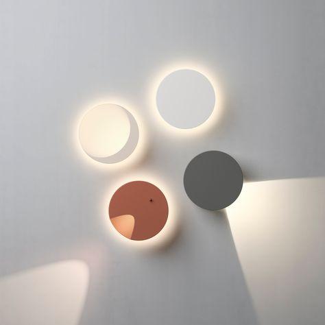 Led Polycarbonate Wall Light Dots By Vibia Design Martin Azua