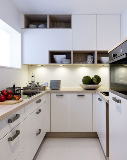 kleine Küche von MÖBEL KRAFT Küche Pinterest - kleine küche l-form