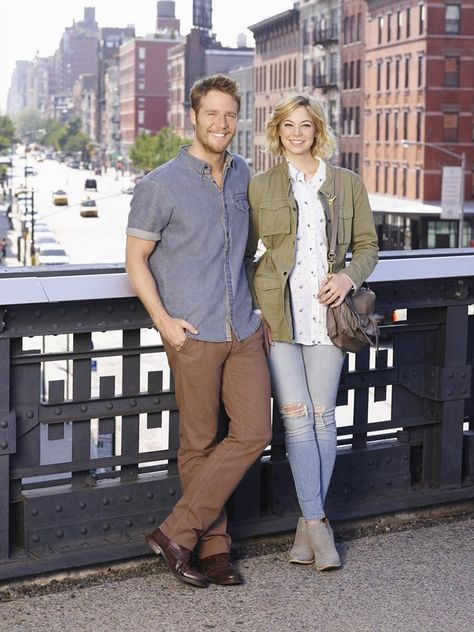 JAKE MCDORMAN, ANALEIGH TIPTON - MANHATTAN LOVE STORY | Favorite TV show.