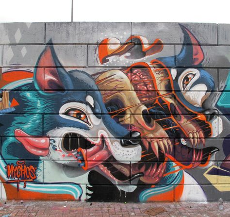 Impressive Street, Graffiti and Mural Art by NYCHOS