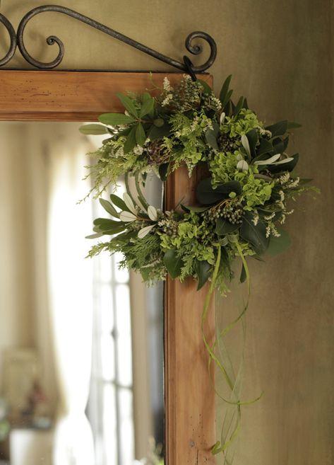 夏のドア飾り ドア飾り インテリア 花 花の飾り