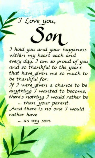 Love You Son Quotes Quotesgram Mother Son Quotes Son Quotes Son Poems