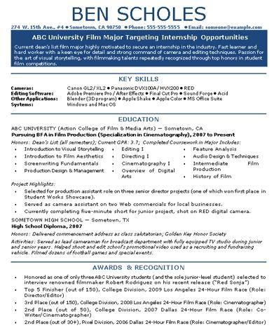 Film Internship Resume Kahrersd7 Internship Resume Cv Design Template Cv Resume Sample