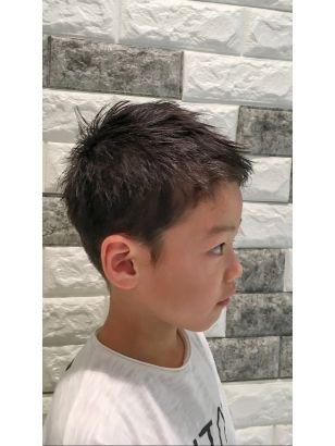 ボード キッズ 髪型 男の子 のピン
