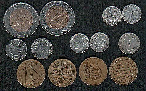 العملات النقدية الجزائرية Bank Notes Banknote Collection Coins
