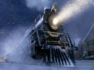 The Polar Express. We read this to our boys then they were little and this first came out. That was late 80's? We still have it and put it out at Christmas!