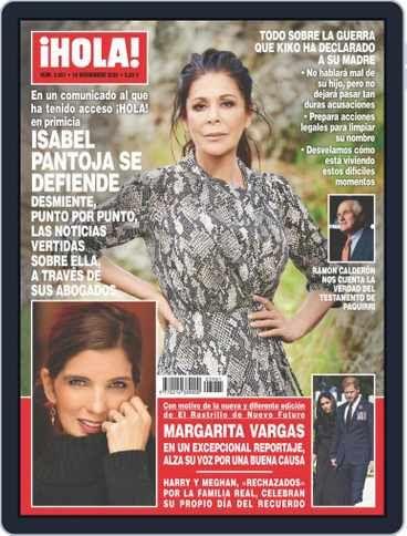 Hola Back Issue 18 Noviembre 2020 Digital En 2021 Revista Hola Isabel Pantoja Pantoja