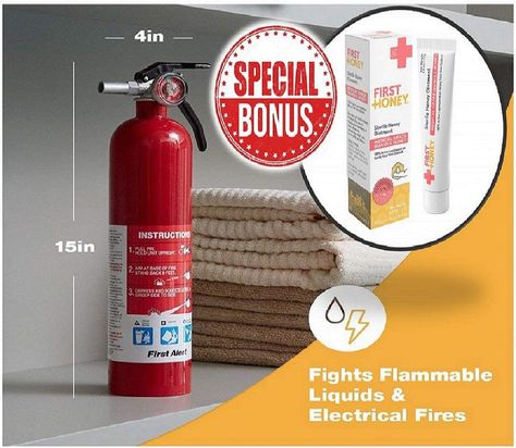 Safe Fire Extinguisher For Home Kitchen Office Jeep Car Vehicle