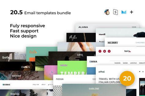 20 Email templates bundle V