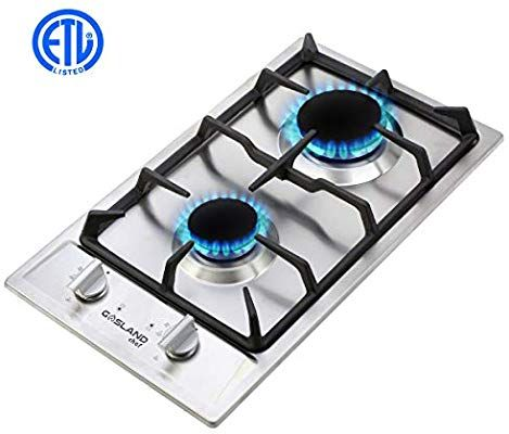 Amazon Com Gas Cooktop Gasland Chef Built In Gas Stove Top Stainless Steel Lpg Natural Gas Cooktop 12 Gas Stove Top W Gas Stove Top Gas Stove Gas Cooktop