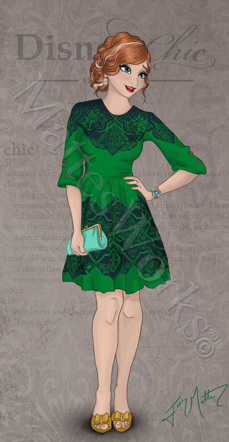 Chic Anna by MattesWorks on DeviantArt