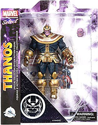 Marvel Select Thanos Avengers Issue pour Diamond Select Toys Disney Store Exclusive