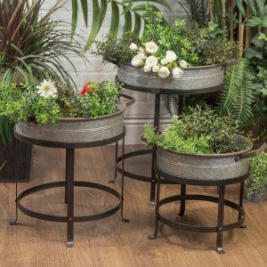 Indoor Outdoor Planters Hayneedle 137 99 Outdoor Planters
