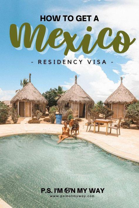 How to get a Mexico temporary resident visa