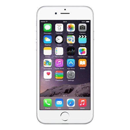 Refurbished Apple Iphone 6 16gb Silver Unlocked Gsm Walmart Com Iphone Apple Iphone 6 Iphone Repair