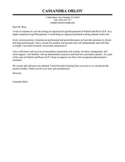 Paralegal Cover Letters – Financial Analyst Cover Letter ...