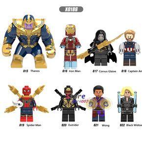 Wong Minifigure Outrider Corvus Glaiva Thanos Figure For Custom Lego Minifigures