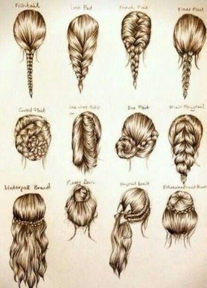 Hair Styles Coiffure Facile Dessin Coiffure Coiffure Facile A Faire