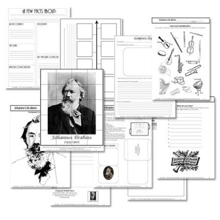 Free Famous Composers Study Resources -