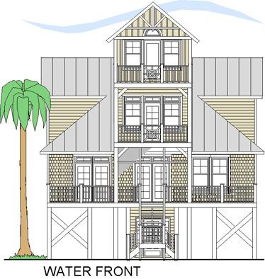 7 best House Plans images on Pinterest Beach homes Beach houses
