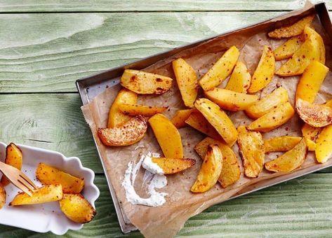 Photo of süsskartoffel pommes backofen