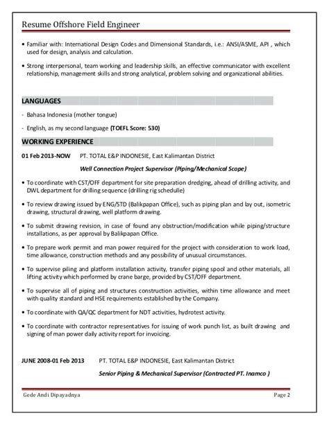 Cv Template Bahasa Indonesia Resume Format Template Riwayat Hidup Bahasa