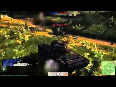 war thunder бой на танке