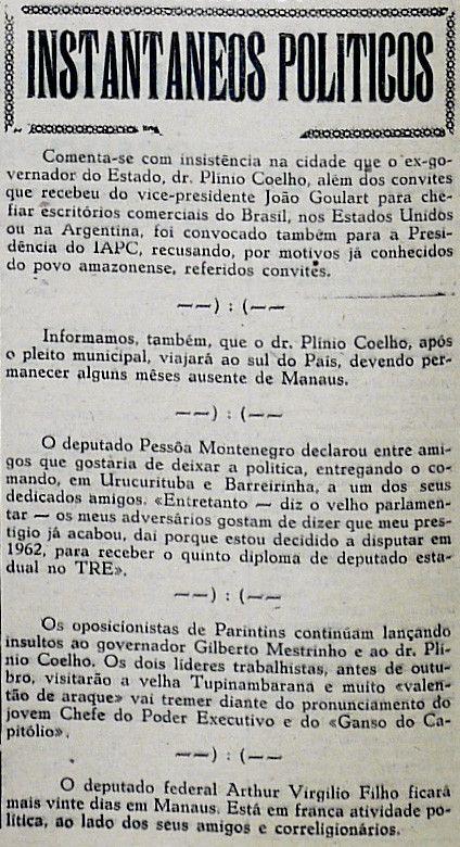 A Gazeta 10 De Agosto De 1959 Instituto Durango Duarte A