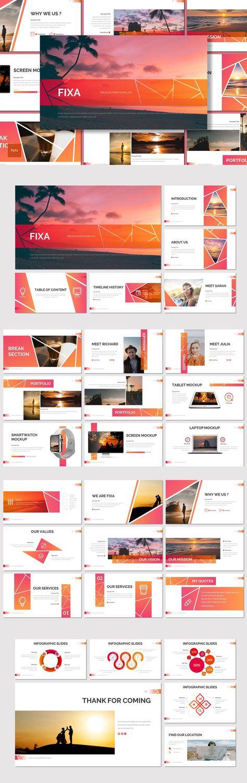 Fixa - Powerpoint Presentation Template