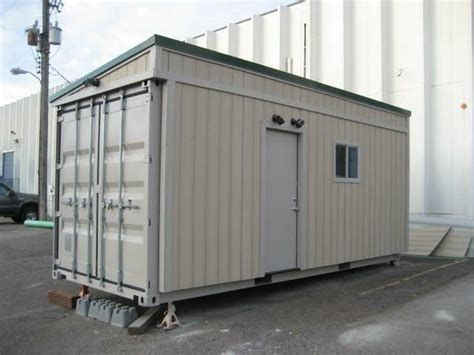 20 Ft Shipping Container Home 160 Sqft Brand New Shipping Container Metal Building Homes Container House
