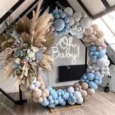 131pcs Chrome Red Blue Balloons Arch Pastel Light Pink Blue Balloon Garland For Baby Shower Birthday Wedding Party Supply Home Decor In 2021 Baby Shower Balloons Baby Shower Decorations Baby Shower Inspiration