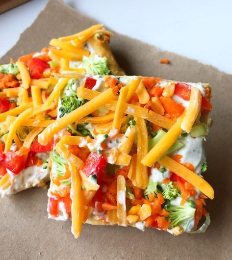 Veggie Pizza - Six Clever Sisters