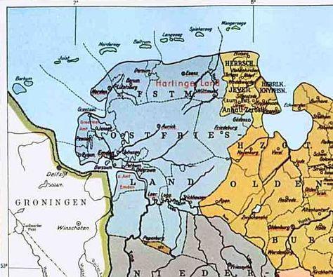 Furstentum Ostfriesland Herrschaft Jever Ostfriesland