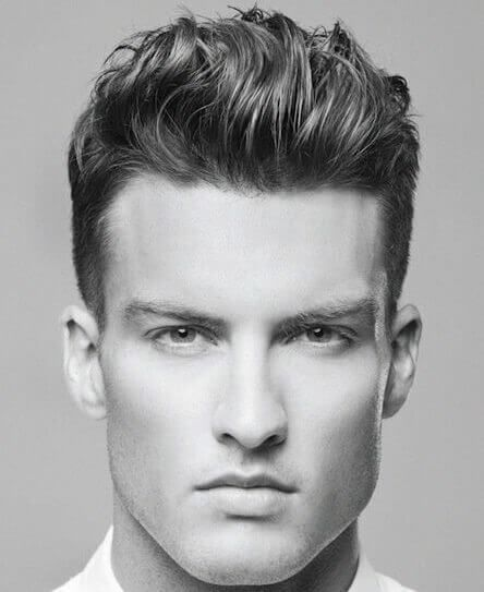 Brushed Hairstyle With Images Mens Haircuts Short Mens