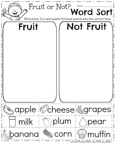 Free 1st Grade Worksheets Science