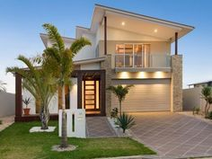2 Storey Plan No 350 Dugong 4 Bedrooms Office Study Double Garage Beach House Design Contemporary House Plans House Plans Australia