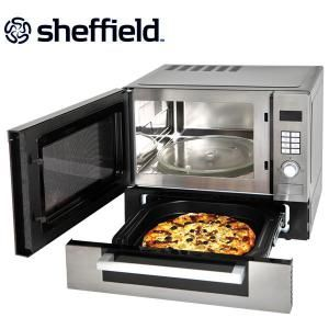 Visit Sheffield 25 Litre Microwave Oven With Pizza Drawer