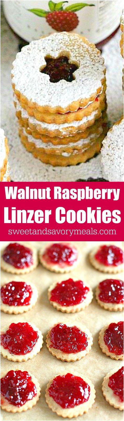 holidayseason Walnut Raspberry Linzer...