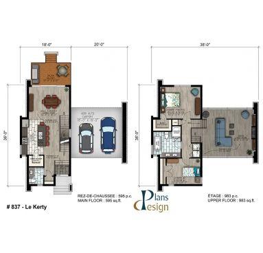 Pin On Plan De Maisons