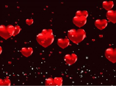 Hearts Love GIF - Hearts Love RainingHearts - Discover & Share GIFs