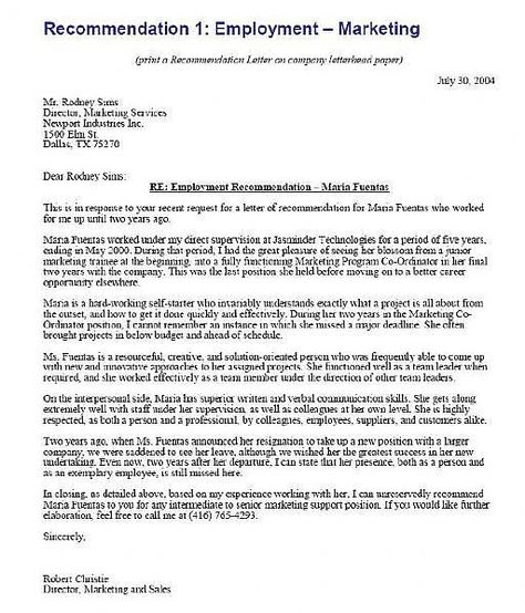 Reference letter of recommendation sample writing a letter of reference letter of recommendation sample writing a letter of recommendation recommendation letters pinterest reference letter job resume and altavistaventures Images