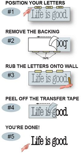 Image Result For How To Apply Vinyl Decal Mirror Stickers Custom Stickers Wall Decals