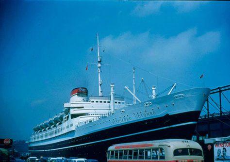 Best Ocean Liner Christophoro Colombo Italian Line - Columbo cruise ship