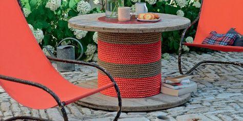 Fabriquer Des Paniers Tuteurs En Bambou Pour Son Jardin Table De Jardin Table Jardin Plastique Table Basse Jardin