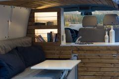 Vw T4 T5 T6 Wohnmobil Camper Campingbus Ausbau Klapptisch Tisch