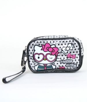Hello Kitty My Secret Micro Pillow Wristlet Heart Shaped NEW