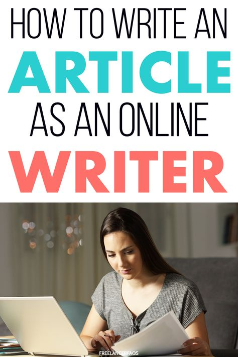 How Do I Write an Article for a Freelance Client? - Freelancer FAQs