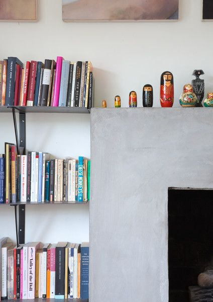 Feeling Bookish - Work + Sea's Colorful Los Angeles Home  - Photos