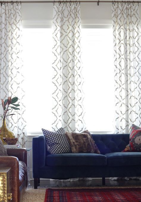 How To Make Rod Pocket Curtains Curtains Living Room Living